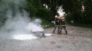 Brandübung Ölwannenbrand