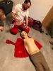 Übung mit Roten Kreuz 05.02.2018